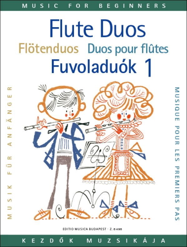 FLUTE DUOS FOR BEGINNERS Volume 1