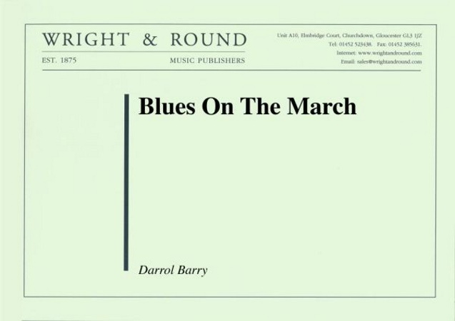 BLUES ON THE MARCH (score & parts)
