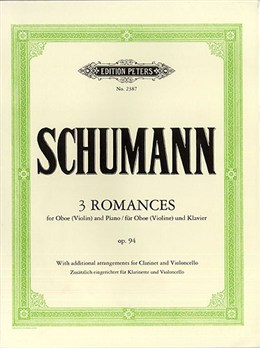 THREE ROMANCES Op.94