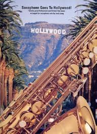 SAXOPHONE GOES TO HOLLYWOOD! with chord symbols