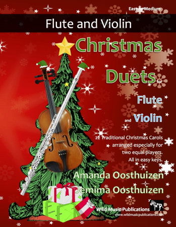 CHRISTMAS DUETS for Flute & Violin