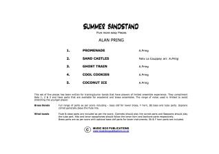 ON THE BANDSTAND Set 4 'Summer Bandstand' (score & parts)