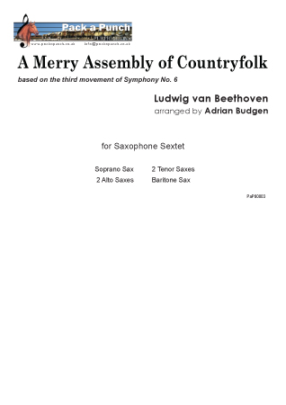 AN ASSEMBLY OF MERRY COUNTRYFOLK