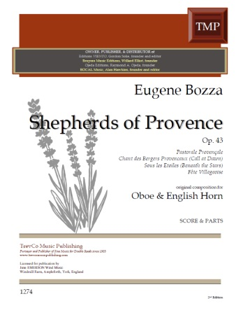 SHEPHERDS OF PROVENCE Op.43