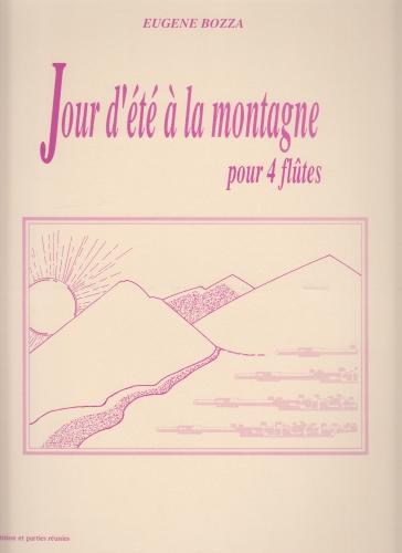 JOUR D'ETE A LA MONTAGNE (score & parts)