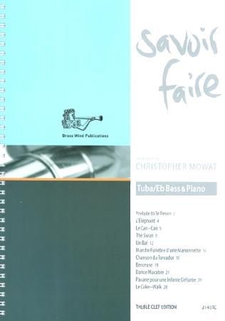 SAVOIR FAIRE (treble clef)