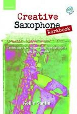 CREATIVE SAXOPHONE WORKBOOK + CD
