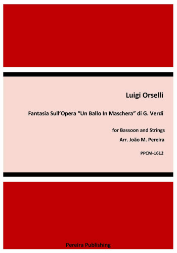 FANTASIA PER FAGOTTO SULL'OPERA UN BALLO IN MASCHERA (score & parts)