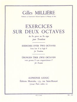 EXERCISES OVER TWO OCTAVES