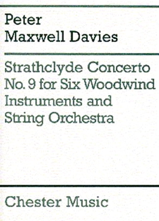 STRATHCLYDE CONCERTO No.9 score & parts