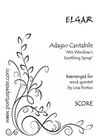 ADAGIO CANTABILE Mrs Winslow's Soothing Syrup (score & parts)