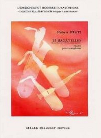 15 BAGATELLES: Etudes for saxophone