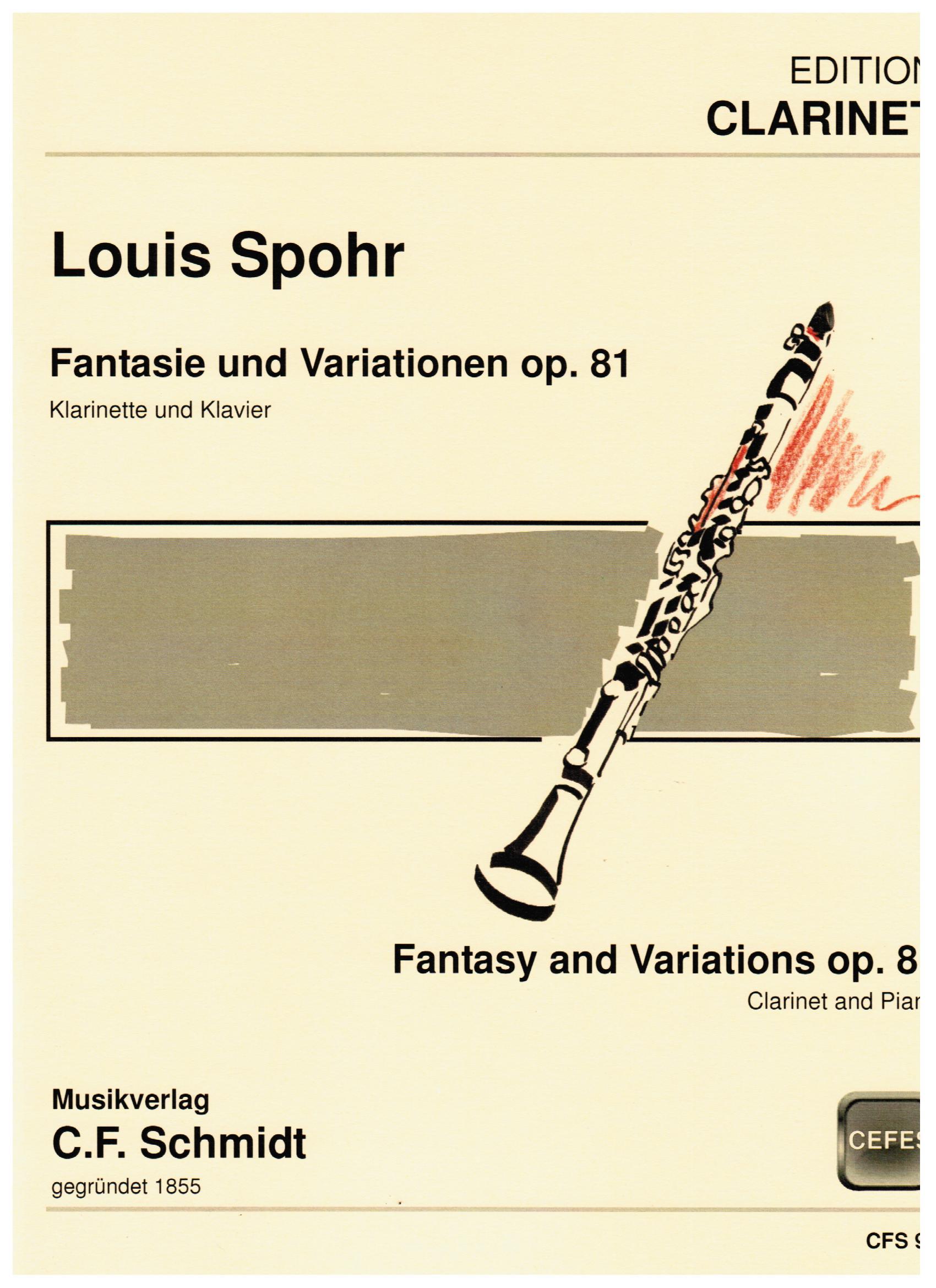 FANTASIE AND VARIATIONS Op.81