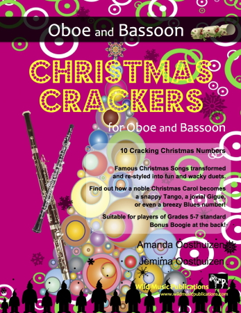 CHRISTMAS CRACKERS for Oboe & Bassoon
