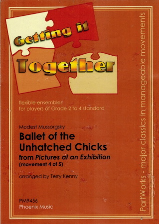 BALLET OF THE UNHATCHED CHICKS No. 4 from Pictures at an Exhibition