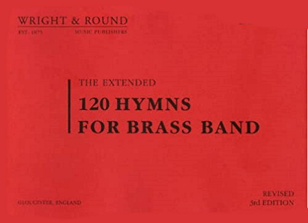120 HYMNS FOR BRASS BAND (A4 size) 2nd & 3rd Bb Cornet