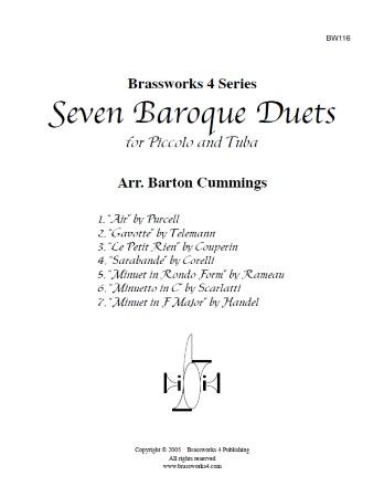 SEVEN BAROQUE DUETS