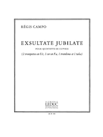 EXSULTATE JUBILATE