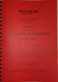 I'M GETTIN' SENTIMENTAL OVER YOU (score & parts)