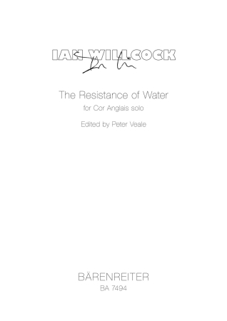 THE RESISTANCE OF WATER (1996)
