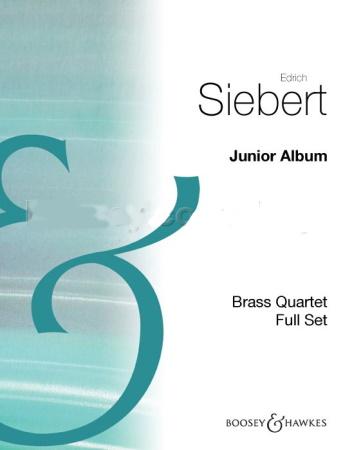 JUNIOR ALBUM for Brass Quartet (score & parts)