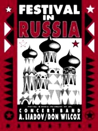FESTIVAL IN RUSSIA (score & parts)