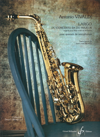 LARGO from Concerto in C (score & parts)