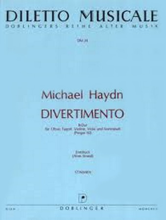 DIVERTIMENTO in Bb major (set of parts)
