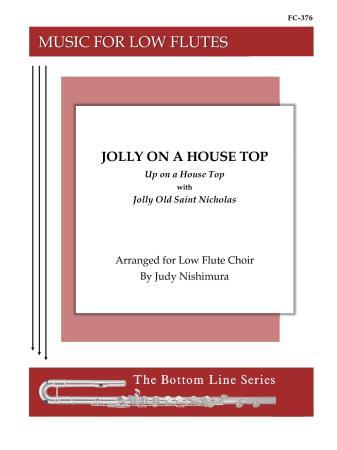 JOLLY ON A HOUSE TOP