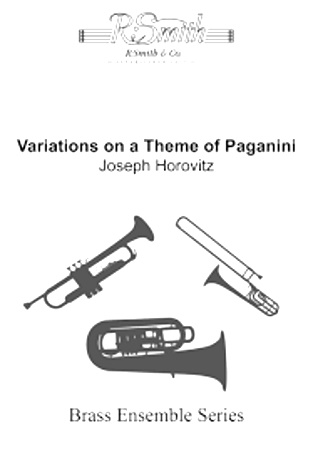 VARIATIONS ON A THEME OF PAGANINI (score & parts)