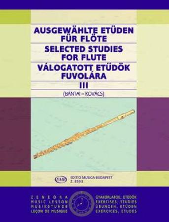SELECTED STUDIES FOR FLUTE Volume 3