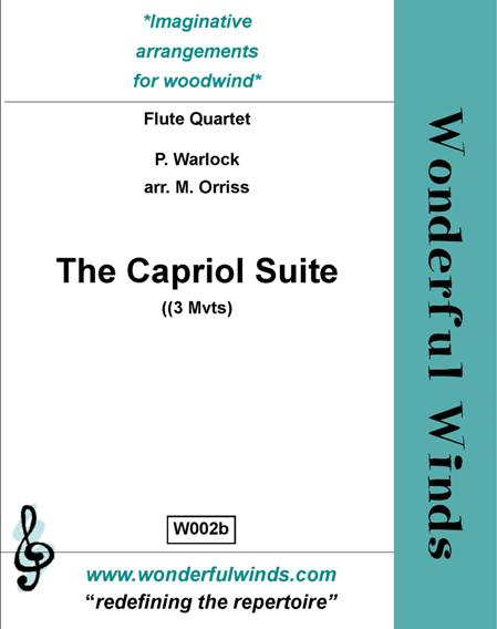 CAPRIOL SUITE Three Movements (score & parts)