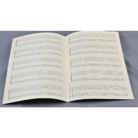 MUSIC MANUSCRIPT PAPER Tablature Paper 5 x 2 staves