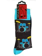 SOCKS Blue & Yellow Drumkit (Size 6-11)