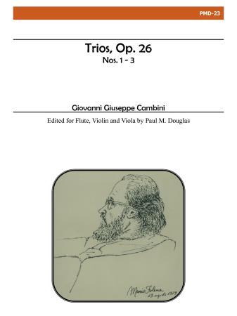 TRIOS Op.26, Nos.1-3