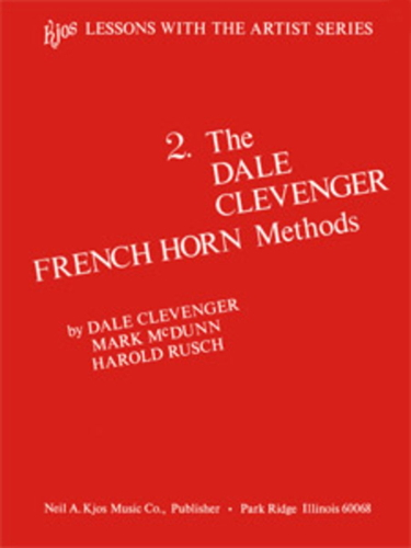 THE DALE CLEVENGER FRENCH HORN METHOD Book 2