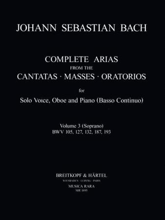COMPLETE ARIAS & SINFONIAS Oboe: Volume 3