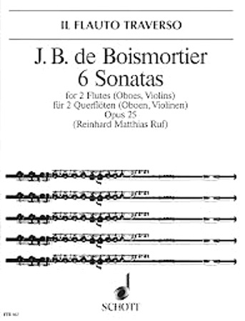 SIX SONATAS FOR TWO FLUTES Op.25