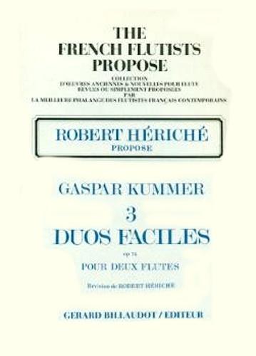 3 EASY DUOS Op.74