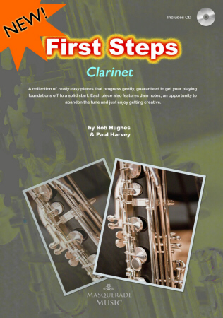 FIRST STEPS Clarinet + CD