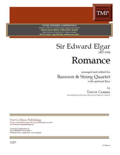 ROMANCE Op.62 (score & parts)
