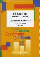 24 ETUDEN treble clef