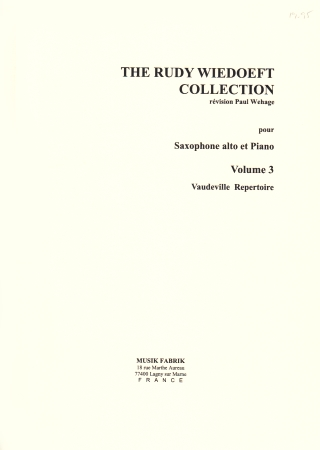 THE RUDY WIEDOEFT COLLECTION Volume 3