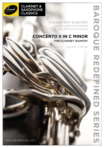 CONCERTO II in C minor (score & parts)