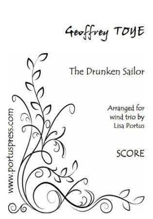 THE DRUNKEN SAILOR (score & parts)