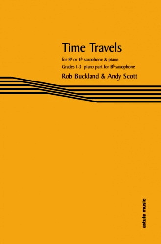 TIME TRAVELS Piano Part for Bb saxes