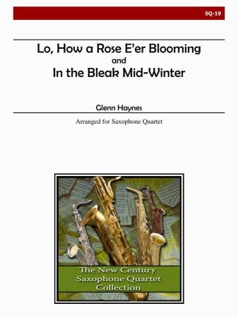 LO HOW A ROSE & IN THE BLEAK MID-WINTER (score & parts)