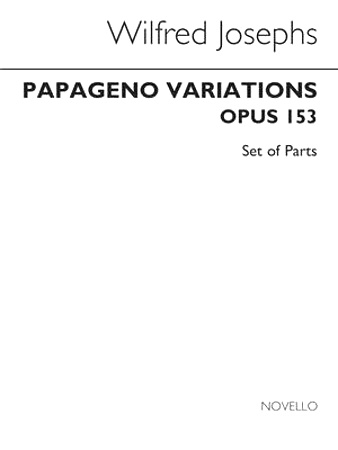 PAPAGENO VARIATIONS Op.153 (set of parts)