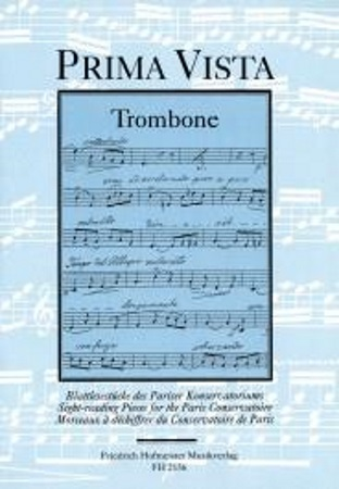 PRIMA VISTA Sight-Reading Pieces for the Paris Conservatoire
