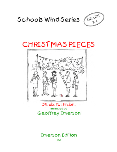 CHRISTMAS PIECES (score & parts)
